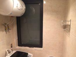 Delat badrum i våra delade lägenheter