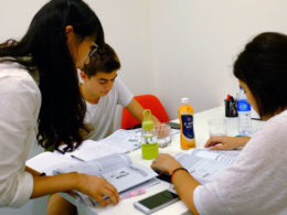 Studerar kinesiska i Shanghai