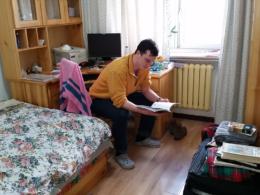 Undervisar i engelska i Kina hos värdfamilj
