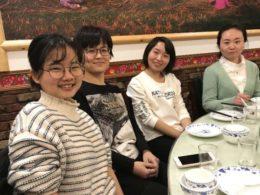 Dags för mat i Shanghai