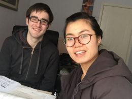 Tina med LTL-elev